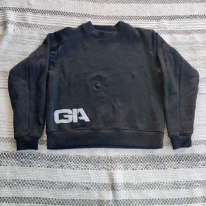 I.AM.GIA|| BLACK Cotton SWEATSHIRT SIZE XS